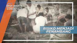 Pekerjaan Berbahaya Bagi Masyarakat Desa Bunga Hijau, Gorontalo