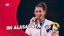 Atlet Olimpiade Tokyo 2020 Diimbau Tak Berpose Sambil Gigit Medali