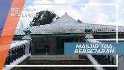 Masjid Kyai Ageng Ngaliman, Masjid Tua Bersejarah di Nganjuk