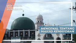 Masjid Kemayoran Surabaya, Dibangun Di Atas Lahan Mayor Hinda Belanda