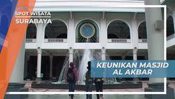 Masjid Al Akbar Surabaya, Berkubah Setengah Telur