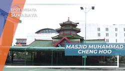 Masjid Muhammad Cheng Ho Surabaya, Masjid dengan Arsitektur Tionghoa