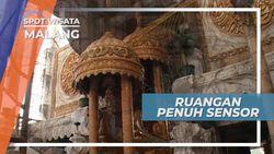 Masjid Unik dengan Interior Ruangan yang Lain dari Biasanya, Malang