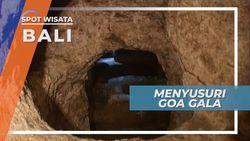 Goa Gala, Menyusuri Inspirasi Sang Dalang Cerita Mahabarata Nusa Lembongan Bali
