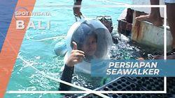Indahnya Pantai Sanur, Menemani Persiapan Seawalker Bawah Laut Bali