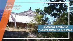 Masjid Desa Bayan Lombok, Filosofi Tata Letak dan Bentuk Bangunan