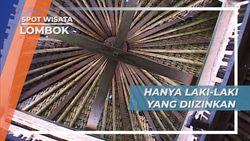 Masjid Desa Bayan Lombok, Kaum Wanita Tidak Diperkenankan Memasuki Bangunan Masjid