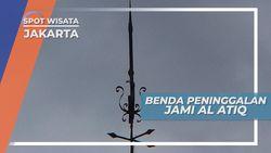 Masjid Al Atiq Jakarta, Kaligrafi Peninggalan yang Masih Otentik