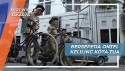 Wisata Edukasi Kota Tua Jakarta, Berkeliling dengan Sepeda Onthel
