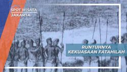 Wisata Edukasi Kota Tua Jakarta, Berakhirnya Kekuasaan Fatahillah