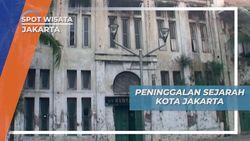 Wisata Edukasi Kota Tua Jakarta, Peninggalan Cerita Sejarah