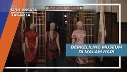 Wisata Edukasi Kota Tua Jakarta, Museum Bank Mandiri di Malam Hari