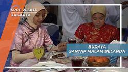 Wisata Edukasi Kota Tua Jakarta, Santap Malam Jaman Belanda