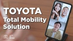 #ToyotaDigitalLaunch Total Mobility Solution
