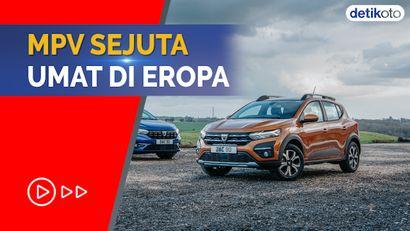 MPV Seperti Avanza-Xpander Cs Tak Laku di Eropa, Ini Nih Juaranya...