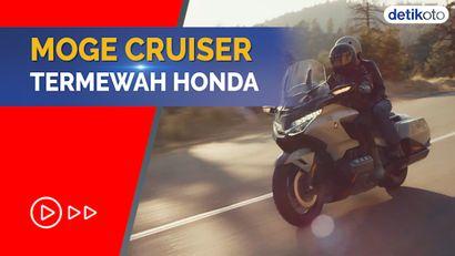Wujud Mewah Honda Goldwing Terbaru yang Dijual Rp 1,1 M