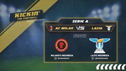 Prediksi AC Milan VS Lazio Bersama Milanisti Indonesia dan Lazio Indonesia