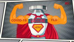Waspada! Kena Flu dan COVID-19 Sekaligus Bisa Meningkatkan Risiko Kematian