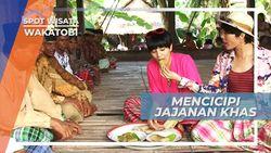 Mencicipi Sajian Kudapan Ringan nan  Nikmat di Acara Adat Pulau Kapota Khas Kuliner Wakatobi