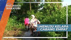 Mencari Ojeg Motor di Pulau Kapota Wakatobi Sulawesi Tenggara