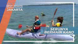 Dayung-dayung, Serunya Bermain Kano di Pulau Putri, Jakarta