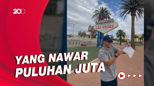 Ada-ada Saja! Arief Muhammad Jual Udara Las Vegas