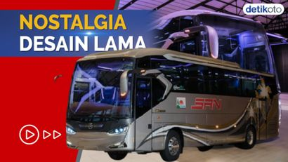 Tren Bus Single Glass Bangkit Lagi, Laksana Rilis Legacy SR2 Panorama