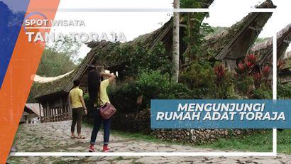 Tongkonan, Rumah Adat Toraja yang Penuh Makna di Desa Buntao