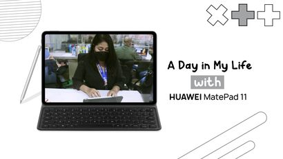 A Day in My Life with Huawei Matepad 11