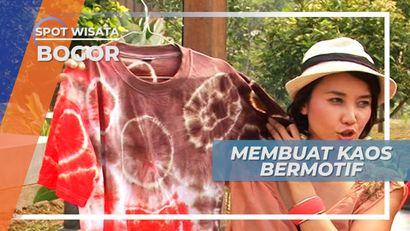 Belajar Membuat Kaos Bermotif, Kerajinan Sederhana yang Nyentrik di Bogor