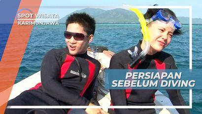 Menikmati Pesona Laut Biru Pulau Gosong Karimunjawa Jepara