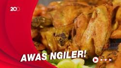 Bikin Laper: Ayam Kampung Dicocol Pakai Sambel Rampai dan Jengkol