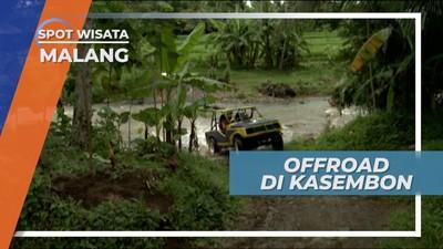 Offroad Menyebrangi Sungai, Menaklukkan Jalur Ekstrem Kasembon Kota Malang