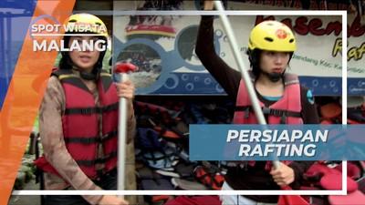 Memakai Perlengkapan Keamanan, Persiapan Rafting di Kasembon Kota Malang