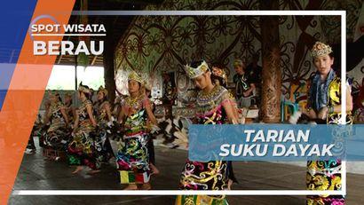 Tarian Khas Suku Dayak, Pertunjukan Tradisional Masyarakat Kampung Bena, Berau