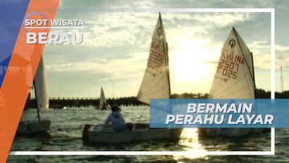 Bermain Perahu Layar di Kampung Tanjung Batu, Berau