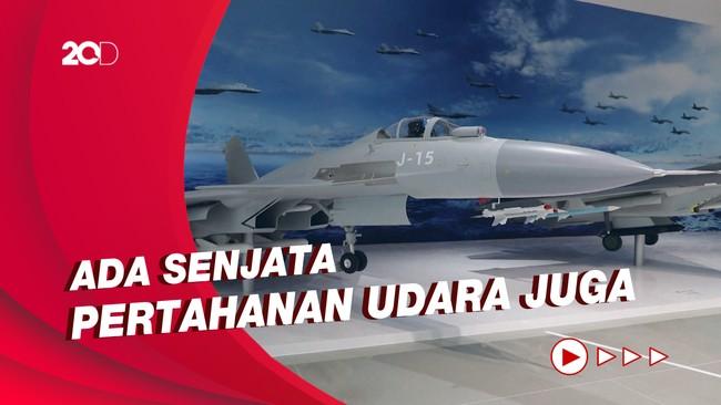 Pameran Pesawat Tempur dan Rudal di Airshow China 2021