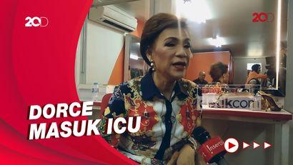 Dorce Gamalama Dilarikan ke Rumah Sakit