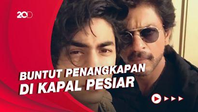Penampakan Anak Shah Rukh Khan Saat Menuju Rutan Narkoba