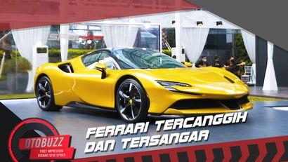 Sangar! Kesan Pertama Ferrari SF90 Spider