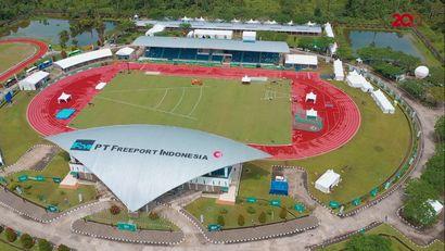 Kontribusi Freeport Dukung PON Papua Lewat Stadion Mimika Sport Complex yang Megah