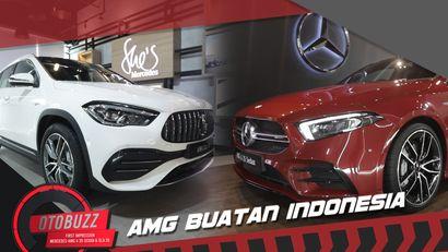 Kesan Pertama Mercedes AMG Buatan Lokal