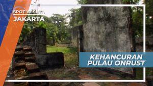 Kehancuran Pulau Onrust Karena Letusan Gunung Krakatau, Kepulauan Seribu
