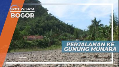 Perjalanan Menuju Gunung Munara, Bogor