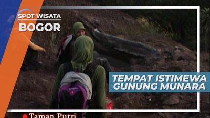 Goa Gadogan Kuda, Tempat Istimewa di Gunung Munara, Bogor