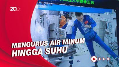 Kegiatan Pertama Astronaut China Sesampainya di Stasiun Luar Angkasa