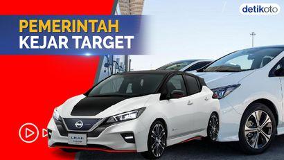 PNS Bakal Dipaksa Pakai Mobil dan Motor Listrik, Ini Target Pemerintah