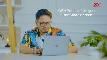 iBox Experience at Home: WFH Produktif Pakai Fitur Share Screen