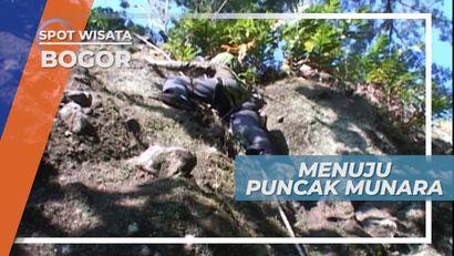 Sulitnya Mengapai Puncak Gunung Munara Bogor