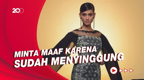 Permintaan Maaf Miss World Malaysia soal Batik